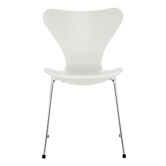 [Fritz Hansen/프리츠한센] Series 7 Chair (coloured ash) - White / 시리즈 7 체어 - White