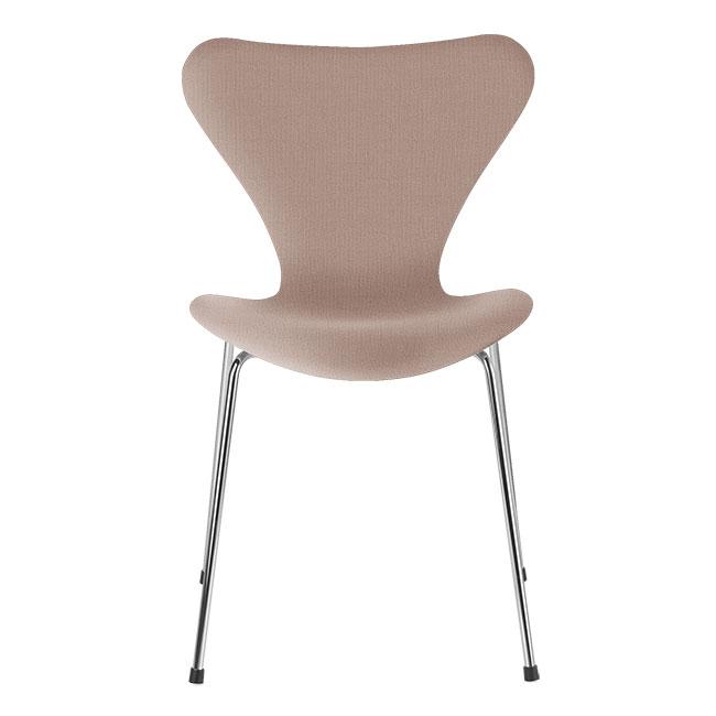 [Fritz Hansen/프리츠한센] Series 7 Chair Light Red Uni (fully upholstered, fabric) / 시리즈 7 체어 Light Red Uni