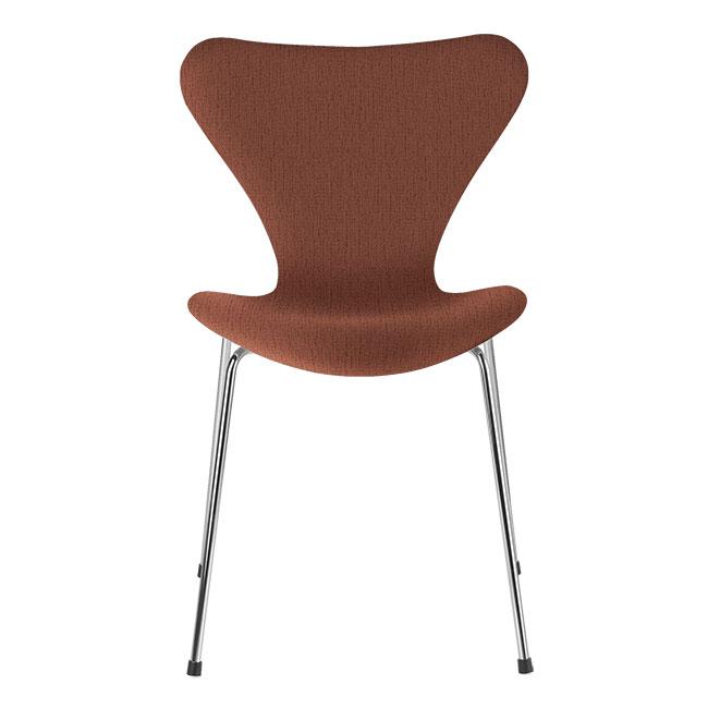 [Fritz Hansen/프리츠한센] Series 7 Chair Orange (fully upholstered, fabric) / 시리즈 7 체어 Orange