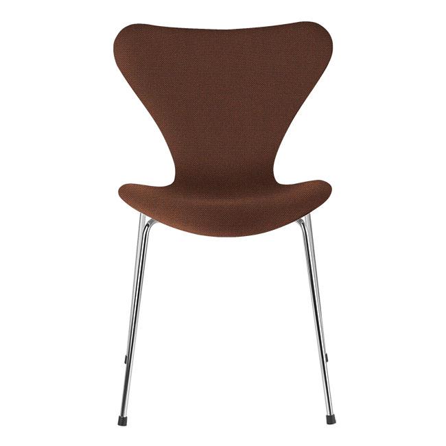 [Fritz Hansen/프리츠한센] Series 7 Chair Dark Orange (fully upholstered, fabric) / 시리즈 7 체어 다크 오렌지