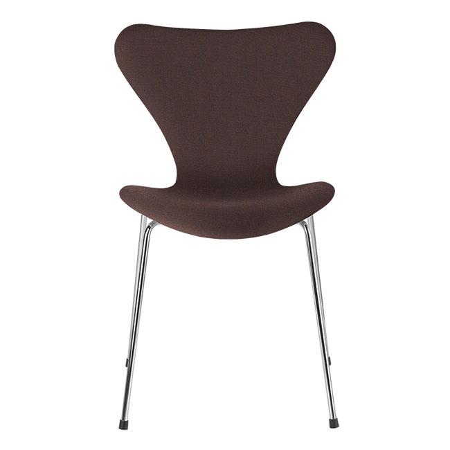 [Fritz Hansen/프리츠한센] Series 7 Chair Blue / Orange (fully upholstered, fabric) / 시리즈 7 체어 Blue / Orange