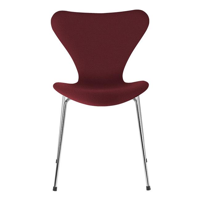 [Fritz Hansen/프리츠한센] Series 7 Chair Red Uni (fully upholstered, fabric) / 시리즈 7 체어 Red Uni