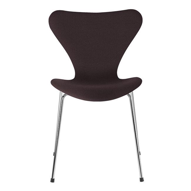 [Fritz Hansen/프리츠한센] Series 7 Chair Dark Red Uni (fully upholstered, fabric) / 시리즈 7 체어 Dark Red Uni