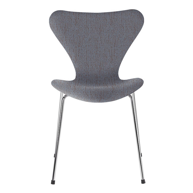 [Fritz Hansen/프리츠한센] Series 7 Chair Orange / Blue (fully upholstered, fabric) / 시리즈 7 체어 Orange / Blue