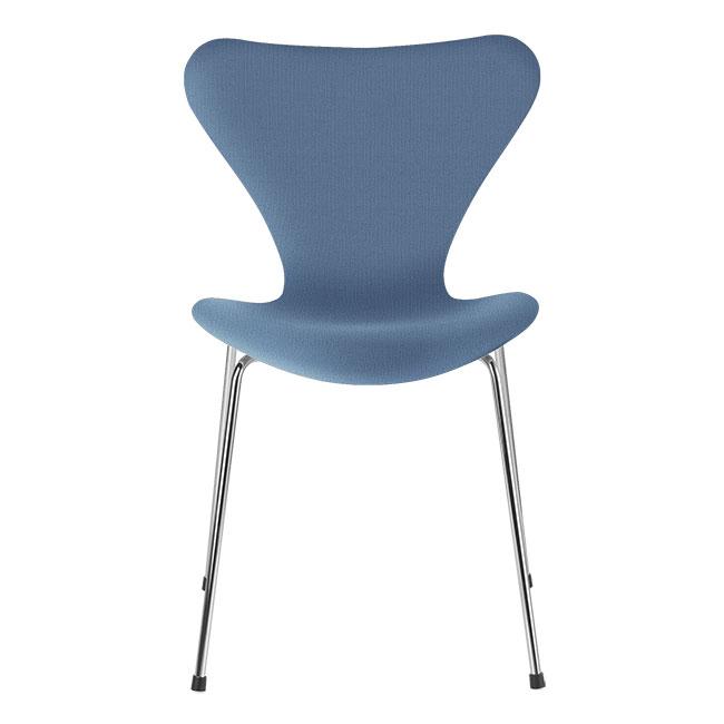 [Fritz Hansen/프리츠한센] Series 7 Chair Light Blue Uni (fully upholstered, fabric) / 시리즈 7 체어 Light Blue Uni