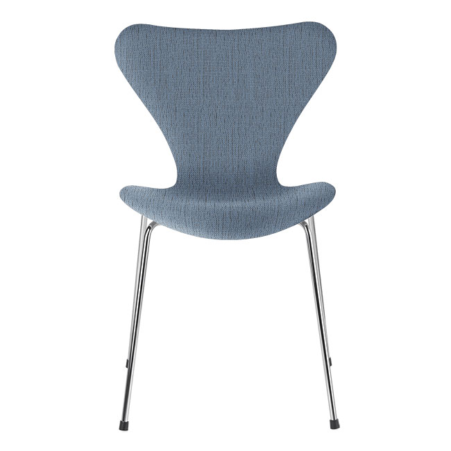 [Fritz Hansen/프리츠한센] Series 7 Chair Light Blue (fully upholstered, fabric) / 시리즈 7 체어 Light Blue