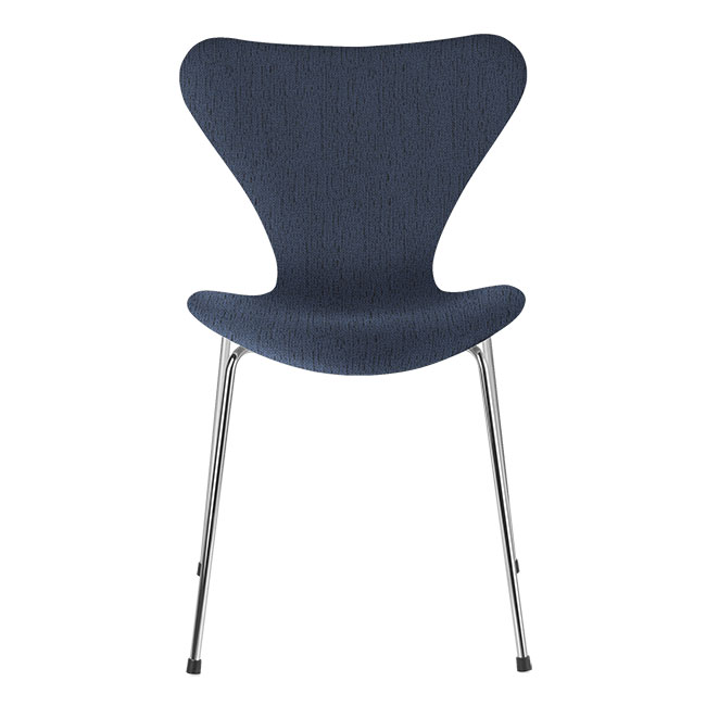[Fritz Hansen/프리츠한센] Series 7 Chair Blue (fully upholstered, fabric) / 시리즈 7 체어 Blue