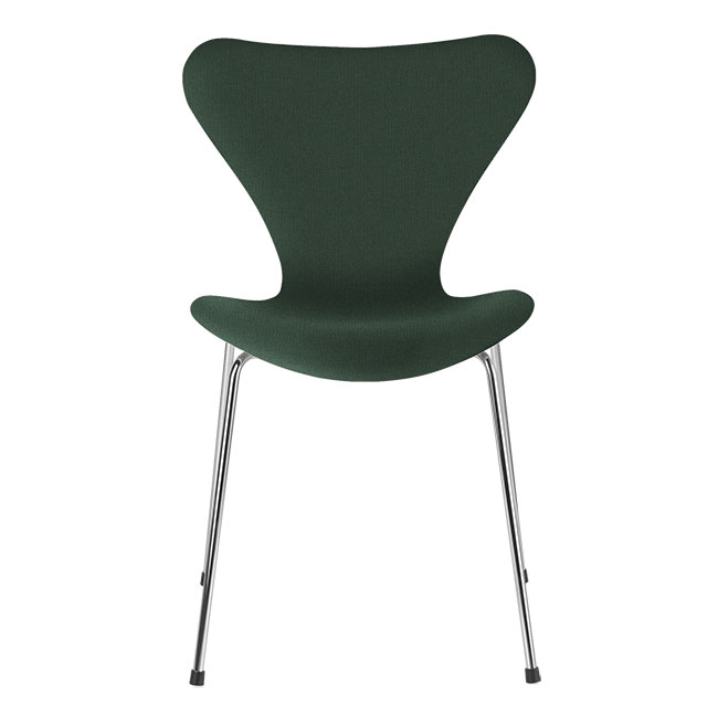 [Fritz Hansen/프리츠한센] Series 7 Chair Dark Green Uni (fully upholstered, fabric) / 시리즈 7 체어 Dark Green Uni