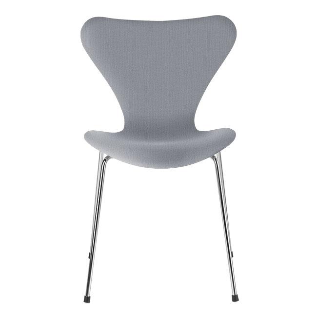 [Fritz Hansen/프리츠한센] Series 7 Chair Light Grey Uni (fully upholstered, fabric) / 시리즈 7 체어 Light Grey Uni