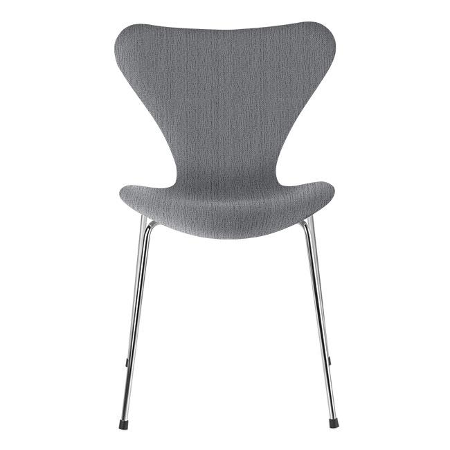 [Fritz Hansen/프리츠한센] Series 7 Chair Light Grey (fully upholstered, fabric) / 시리즈 7 체어 Light Grey