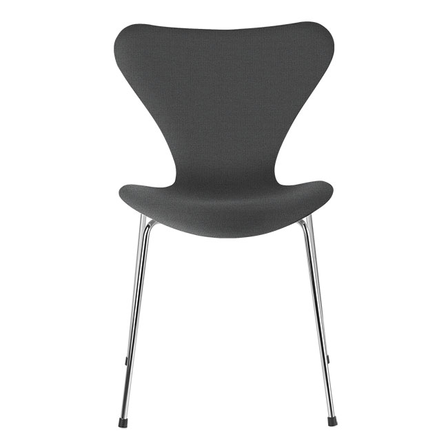 [Fritz Hansen/프리츠한센] Series 7 Chair Grey Uni (fully upholstered, fabric) / 시리즈 7 체어 Grey Uni