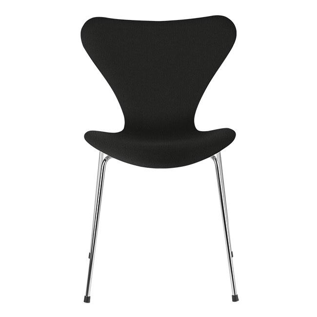 [Fritz Hansen/프리츠한센] Series 7 Chair Black Uni (fully upholstered, fabric) / 시리즈 7 체어 Black Uni