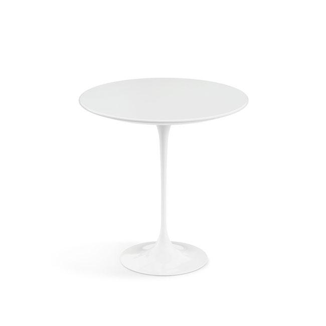 [Knoll/놀] Saarinen Side Table, Ø 51-White // 사리넨 사이드 테이블, Ø 51-화이트