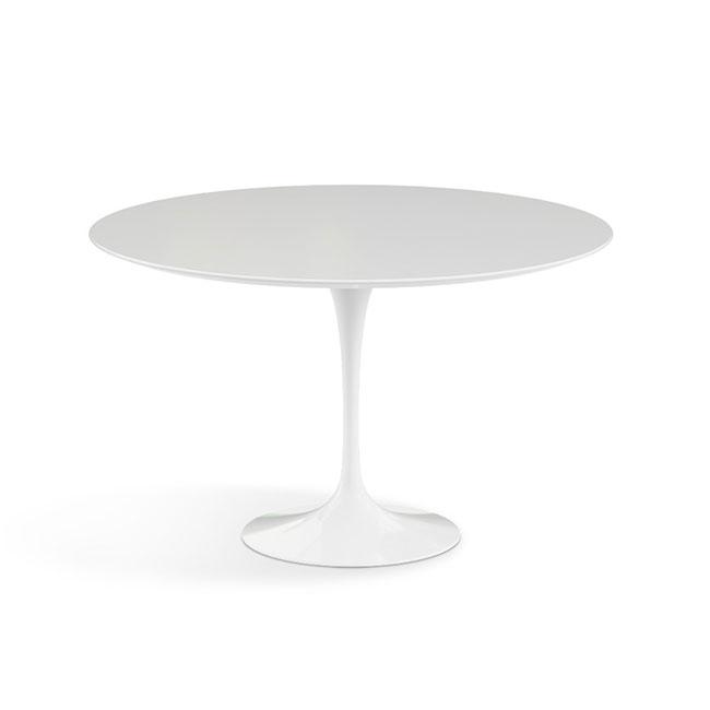 [Knoll/놀] Saarinen Dining Table, Ø 120-White // 사리넨 다이닝 테이블, Ø 120-화이트
