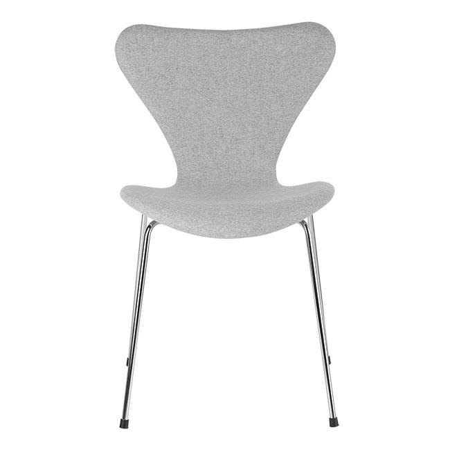 [Fritz Hansen/프리츠한센] Series 7 Chair Divina Light Grey (fully upholstered, fabric) / 시리즈 7 체어 Divina Light Grey
