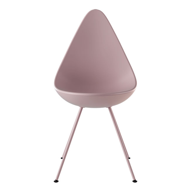 [Fritz Hansen/프리츠한센] Drop Chair 3110 Plastic - MILLENIAL PINK(651) // 드롭 체어 3110 플라스틱 - MILLENIAL PINK (651)