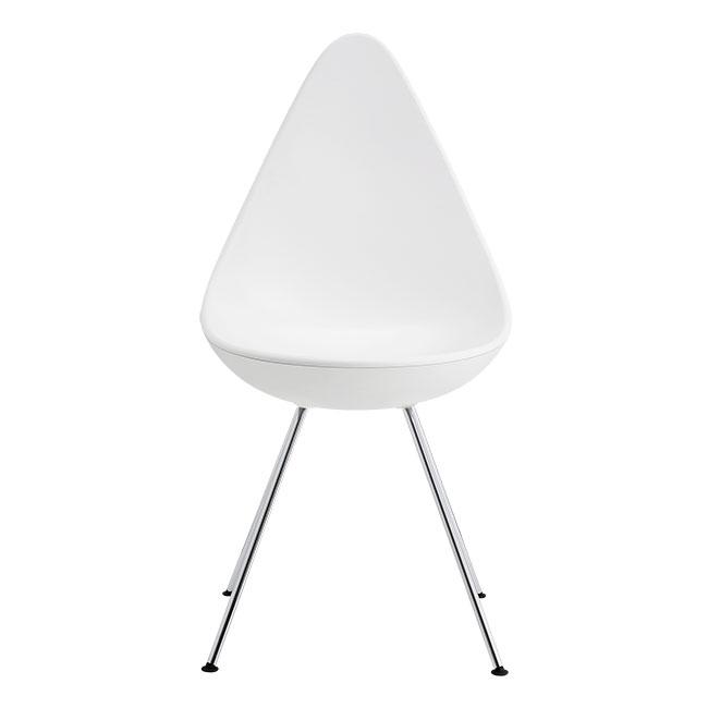 [Fritz Hansen/프리츠한센] Drop Chair 3110 Plastic - WHITE (101) // 드롭 체어 3110 플라스틱 - WHITE (101)