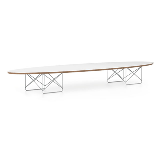 [vitra/비트라] Elliptical Table ETR - White/Chrome // 엘립티컬 테이블 ETR - 화이트/크롬