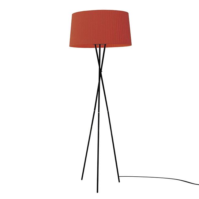 [SANTA & COLE/산타 앤 콜] Tripode G5 Floor Lamp Red Amber // 트라이포드 G5 플로어 램프 레드 엠버