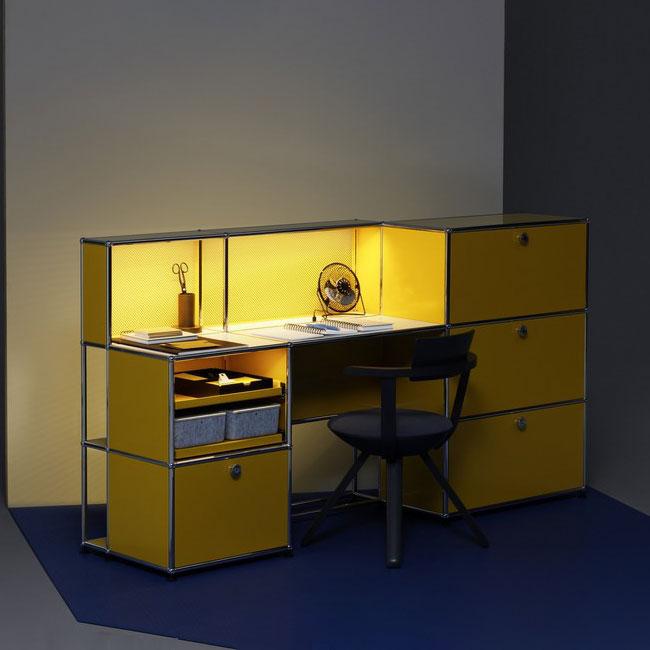 [USM Haller/유에스엠 할러] E Office Desk // E 오피스 데스크