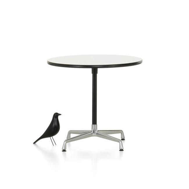 [Vitra/비트라] Eames Contract Tables ø80, HPL white // 임스 콘트랙트 테이블 ø80, HPL white