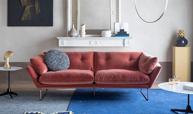 [Saba Italia/사바 이탈리아] New York Suite 2701T Peach (W 230 size) // 뉴욕 스위트 피치