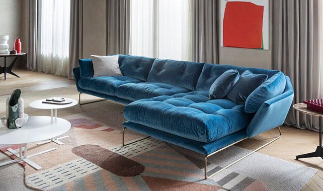 [Saba Italia/사바 이탈리아] New York Suite 2701T Blue (W 230 size) // 뉴욕 스위트 블루