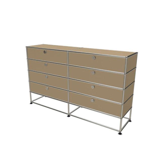 [USM Haller/유에스엠 할러] 2x5 Module System (8-top-door, 0-pannel, W154 x H92) // 2x5 모듈 시스템 (8-top-door, 0-pannel, W154 x H92)