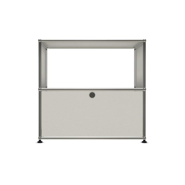 [USM Haller/유에스엠 할러] 1X2 Module System (1-bottom-door, 3-pannel, W79 x H74) // 1X2 모듈 시스템 (1-bottom-door, 3-pannel, W79 x H74)
