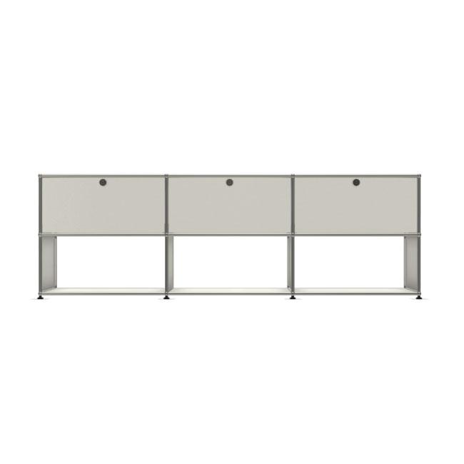 [USM Haller/유에스엠 할러] 3x2 Module System (3-top-door, 3-2-2-pannel, W229 x H74) // 3x2 모듈 시스템 (3-top-door, 3-2-2-pannel, W229 x H74)