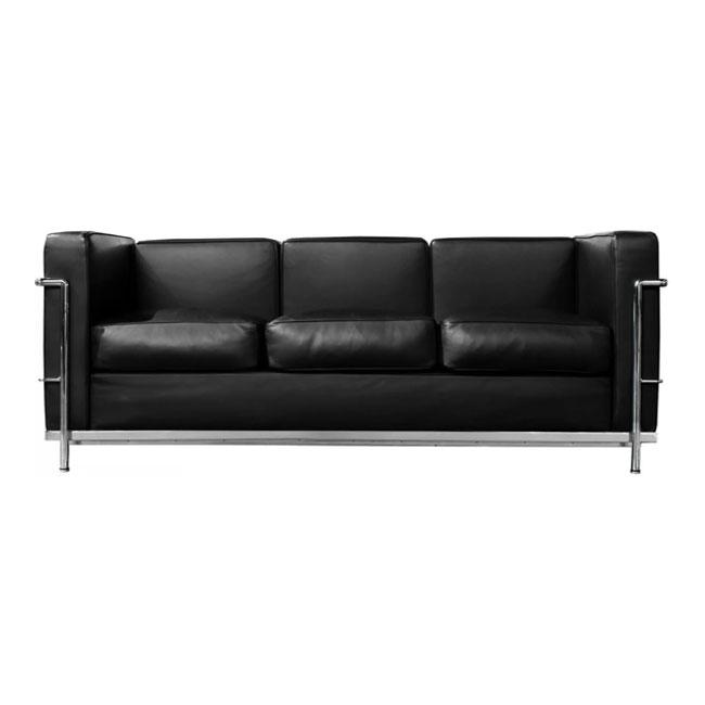 [Cassina/까시나] LC2 Sofa (3 Seat) // LC2 소파 (3 시트) 구스폼 (Cat.Z)