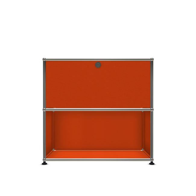 [USM Haller/유에스엠 할러] 1X2 Module System (1-top-door, 4-pannel, W79 x H74) // 1X2 모듈 시스템 (1-top-door, 4-pannel, W79 x H74)