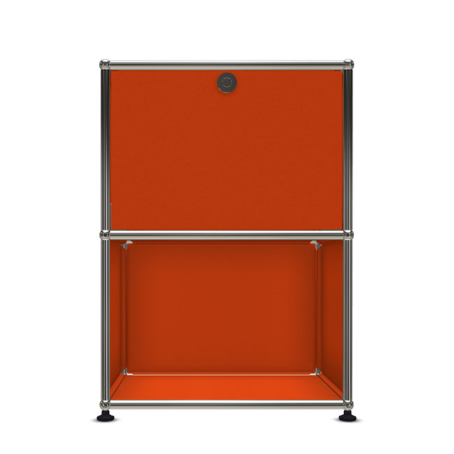 [USM Haller/유에스엠 할러] 1X2 Module System (1-top-door, 4-pannel, W54 x H74) // 1X2 모듈 시스템 (1-top-door, 4-pannel, W54 x H74)