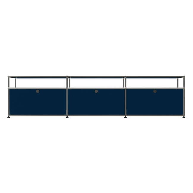 [USM Haller/유에스엠 할러] 3x2 Module System (3-bottom-door, 1-1-1-pannel, W229 x H54) // 3x2 모듈 시스템 (3-bottom-door, 1-1-1-pannel, W229 x H54)