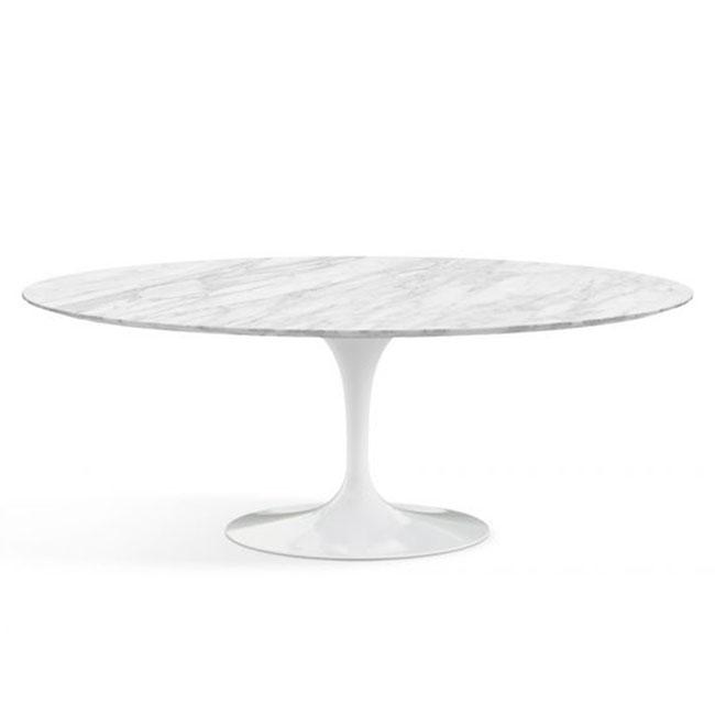 [Knoll/놀] Saarinen Dining Table, Oval 198 x 121 // 사리넨 다이닝 테이블, 오벌 198 x 121
