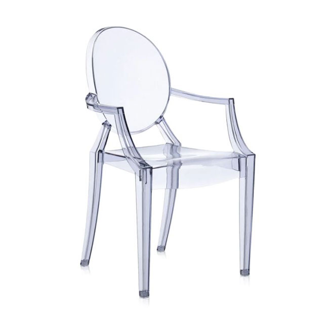 [Kartell/카르텔] Louis Ghost Armchair // 루이스 고스트 암체어 - 라이트 블루, 투명