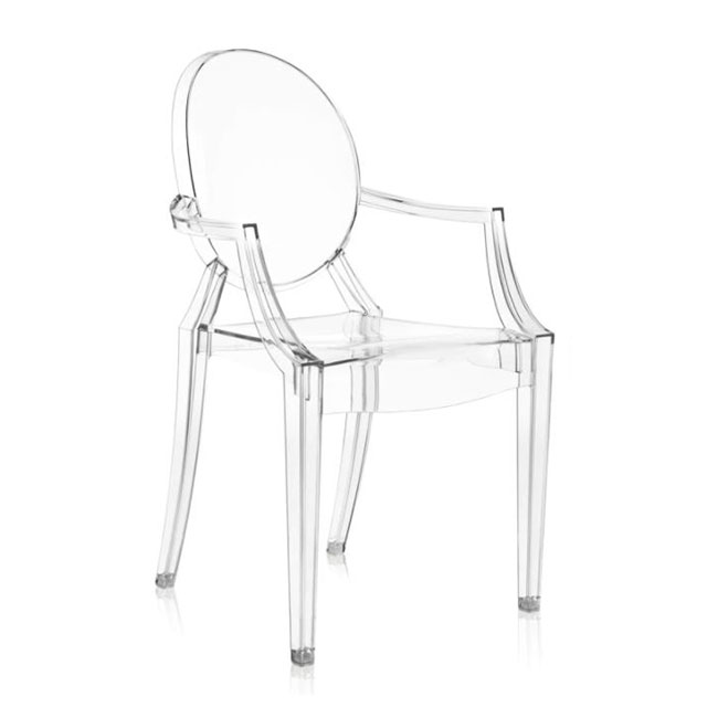 [Kartell/카르텔] Louis Ghost Armchair // 루이스 고스트 암체어 - 투명