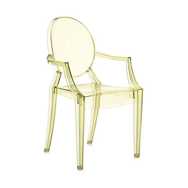 [Kartell/카르텔] Louis Ghost Armchair // 루이스 고스트 암체어 - 옐로우, 투명