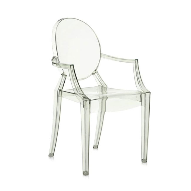 [Kartell/카르텔] Louis Ghost Armchair // 루이스 고스트 암체어 - 그린, 투명