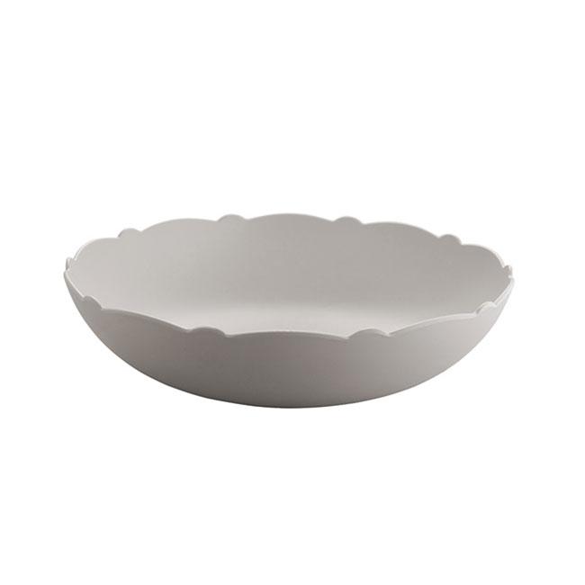 [Alessi/알레시] 드레스드 에어 샐러드볼_웜그레이 / 접시/ 그릇 / MW72/38 WG