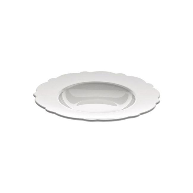 [Alessi/알레시] 드레스드 수프보울_2_화이트/ 접시/ 그릇 MW01/2