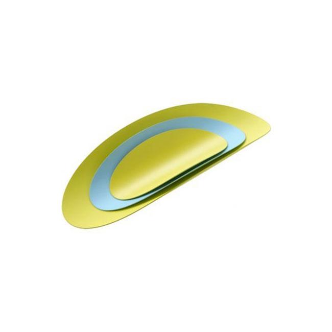 [Alessi/알레시] 이립스 접시세트_3p_옐로우/플레이트 ABI07SET3