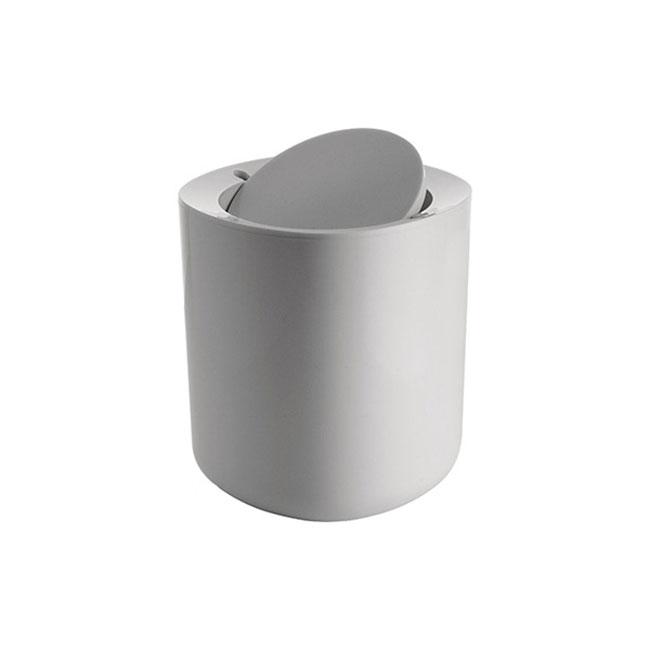 [Alessi/알레시] 비릴로 욕실 휴지통_화이트/PL10 W