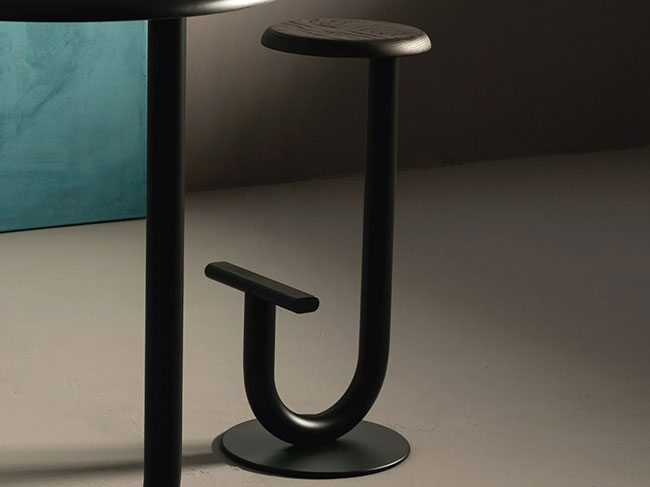 [Desalto/데살토] STRONG - High stool with footrest