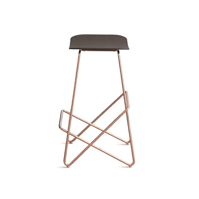 [Desalto/데살토] ENDLESS - Steel stool with footrest