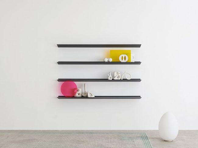 [Desalto/데살토] HANG - Extruded aluminium wall shelf