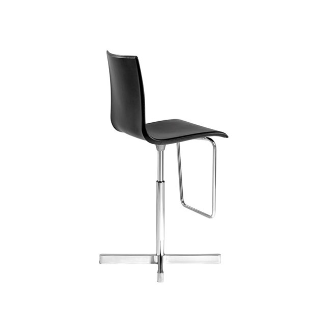 [Desalto/데살토] WOK - Swivel stool with 4-spoke base with back