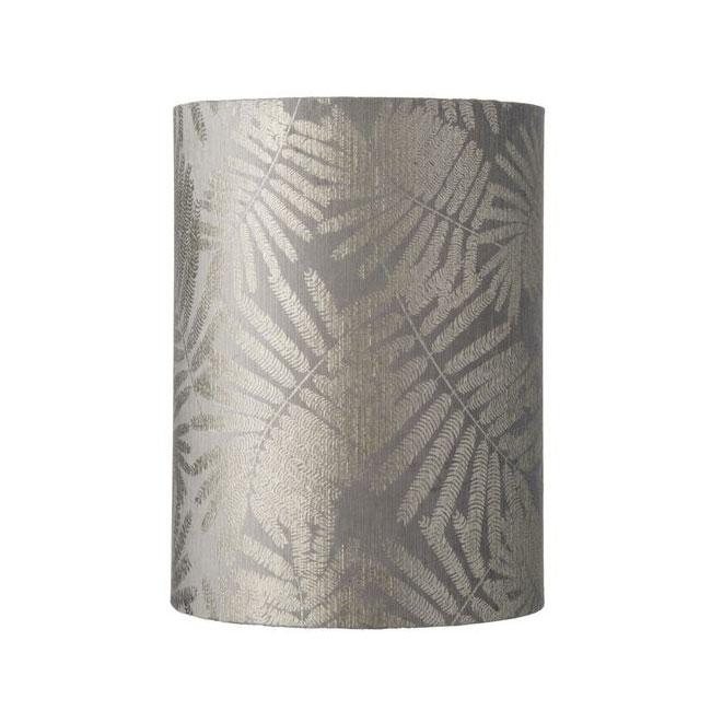 [Ebb&Flow/에브&플로우] Fabric shade Ø30cm 40cmH fern leaves wild silver