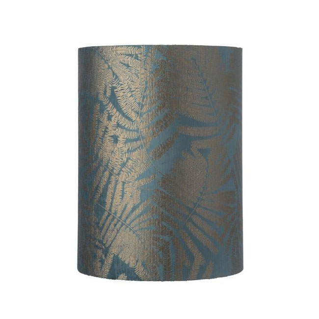 [Ebb&Flow/에브&플로우] Fabric shade Ø30cm 40cmH fern leaves wild teal