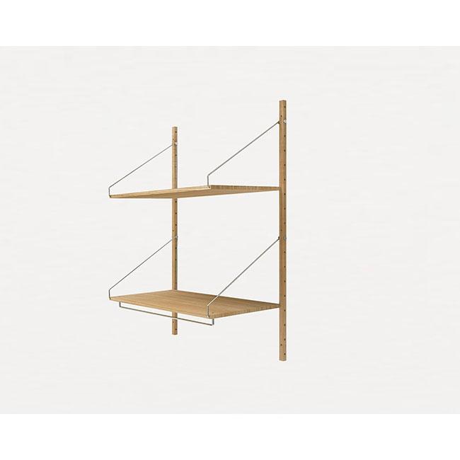 [FRAMA/프라마] Shelf Library Natural H1148 | Hanger Section